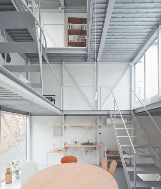インダストリアルなデザイン、空間