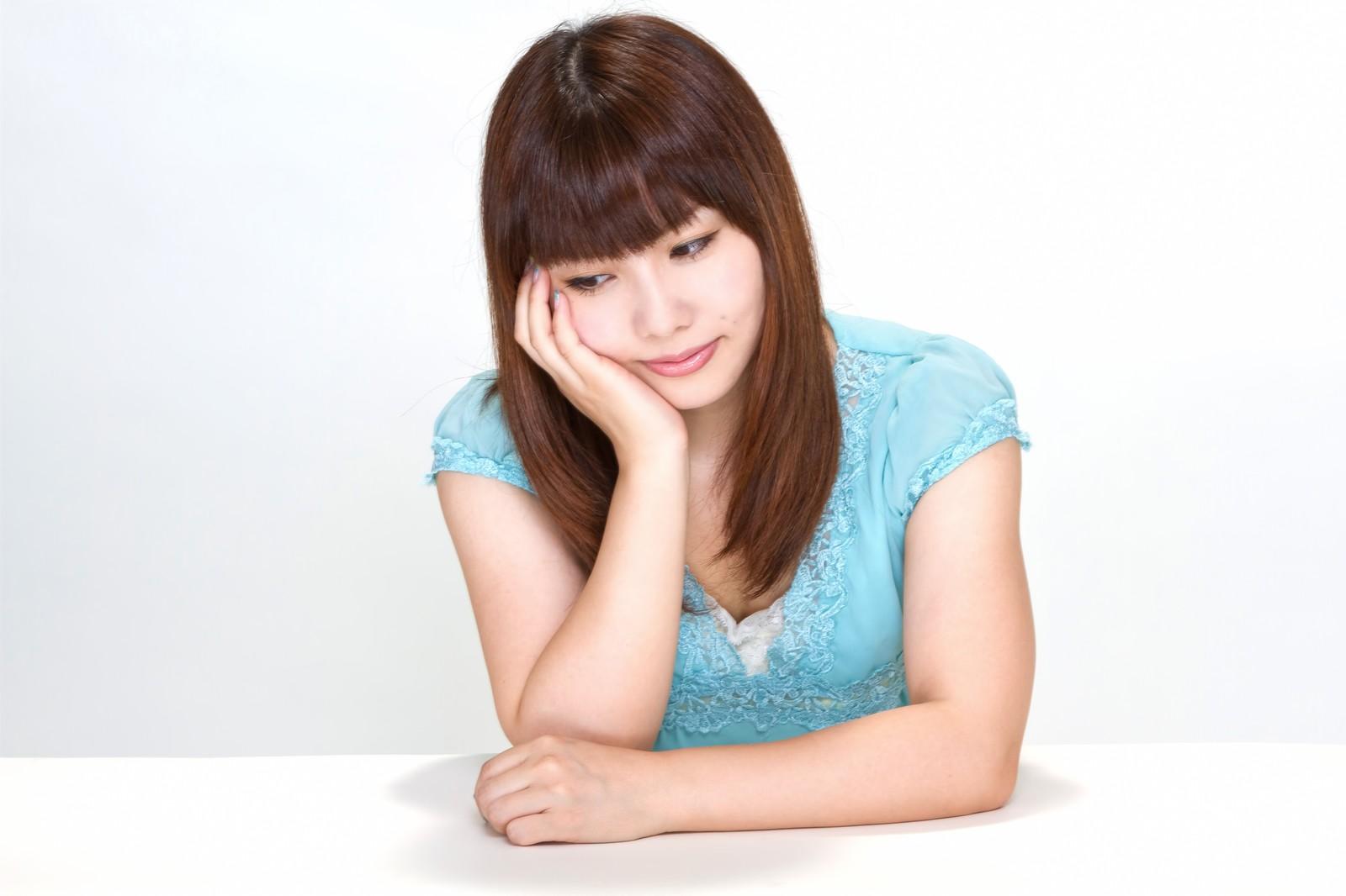 不眠症に悩む女性