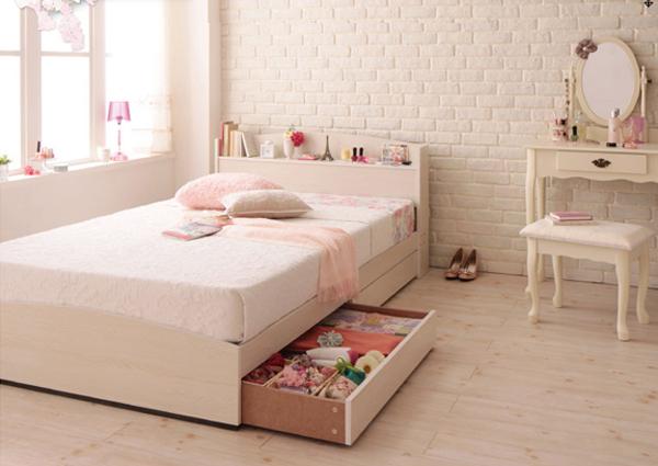 一般的な引き出し収納ベッド