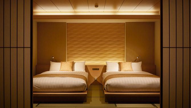 2つベッド