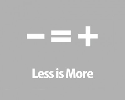 LESS IS MORE(円相)
