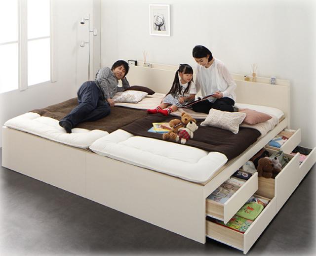 親子の絆をつくるベッド