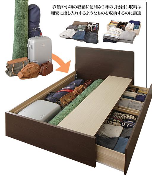 だから「フラットヘッド2杯BOX収納ベッド」をおすすめします。