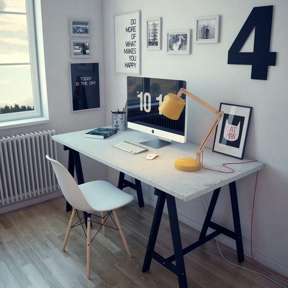 ミニマムリズムなホームオフィス参考事例