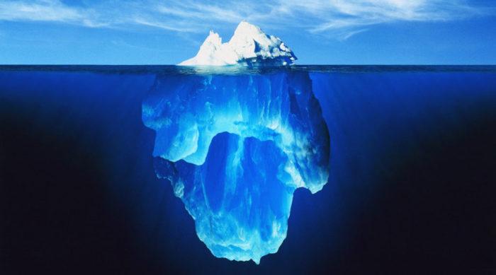 氷山の一角ではなく全体像