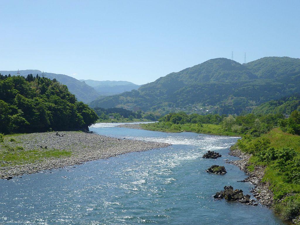 川を観察する